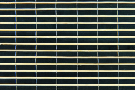 Close up of bamboo mat, can be used as background or texture photo