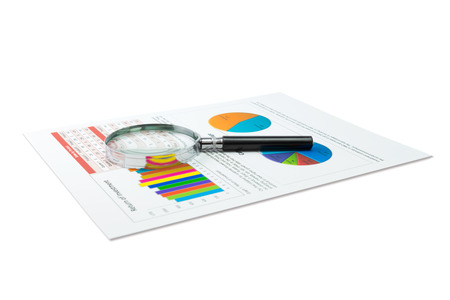 analysing: Analysing financial data with a magnifying glass