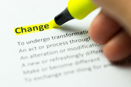 Change word highlighted in yellow color with a highlighter pen