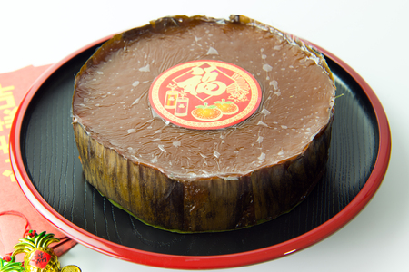 Nian Gao or Chinese glutinous rice cake