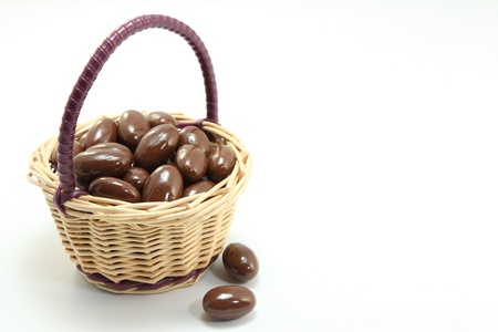cuteness: I tried to express the cuteness is a chocolate with a small basket