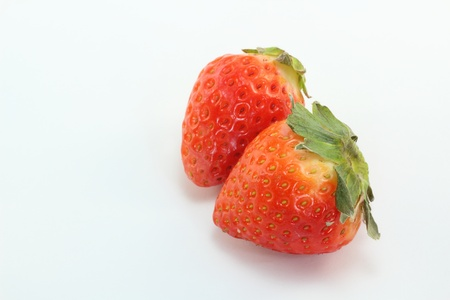This is a strawberry called Sagahonoka which was produced in Saga Prefecture of Japan. Stock Photo - 12869290