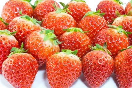 This is a picture of the strawberry is a fruit of the winter. Stock Photo - 13090578