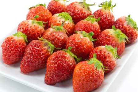 This is a picture of the strawberry is a fruit of the winter. Stock Photo - 13090982