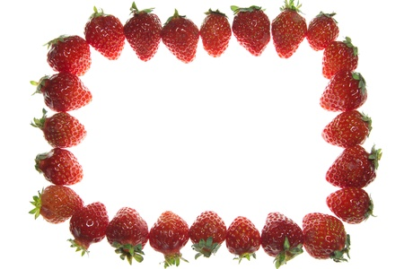 This is the photo was taken a lot of strawberry spread  Stock Photo - 13515920