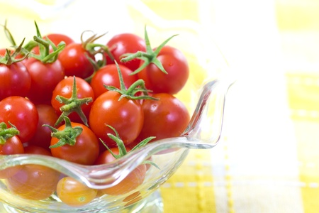 picture of cherry tomatoes Stock Photo