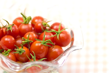 This is a picture of cherry tomatoes I have grown. Stock Photo - 15358072