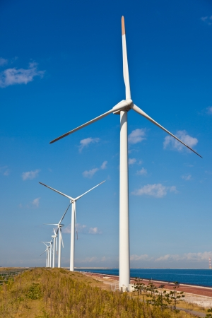 This is a photograph of a wind energy that I have taken. photo
