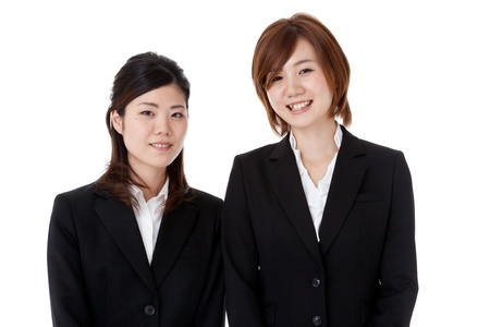 This is a picture of two young business people. Stock Photo - 15983771