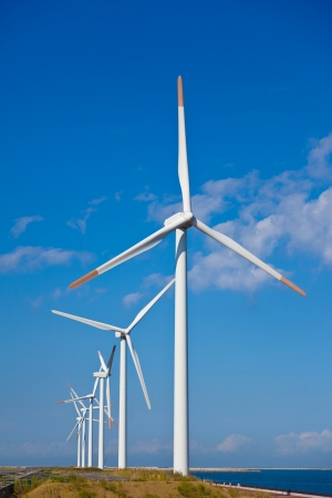 This is a photograph of a wind plants that I have taken. photo