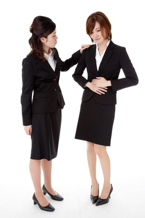 This is a photo of two young business people. Stock Photo - 16085482