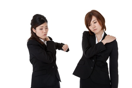 This is a photo of two young business people. Stock Photo - 16165051