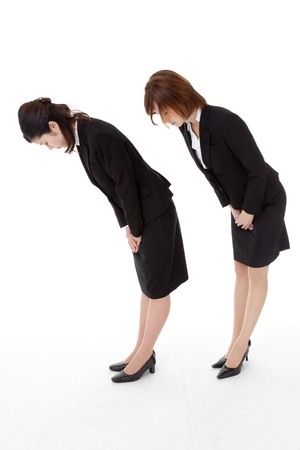 This is a photo of two young business people Stock Photo - 16240145
