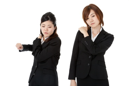 This is a photo of two young business people. Stock Photo - 16327535