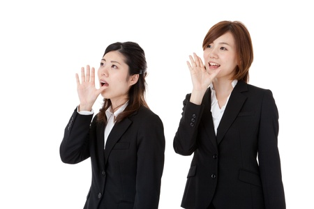 This is a photo of two young business people. Stock Photo - 16483675
