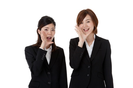 two young business people. Stock Photo - 16549699