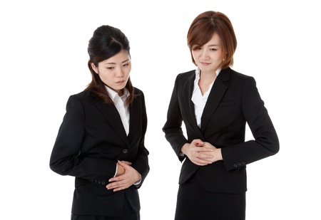 This is a photo of two young business people. Stock Photo - 16587146
