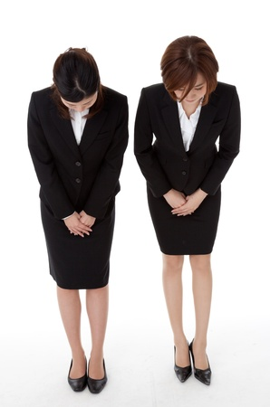 This is a photo of two young business people. Stock Photo - 16596083