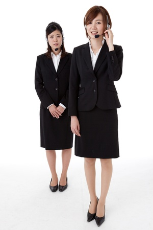 This is a photo of two young business people. Stock Photo - 16633853