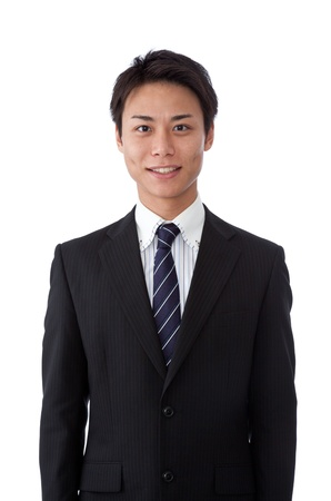 This is a photograph of a young businessman. Stock Photo - 16633939