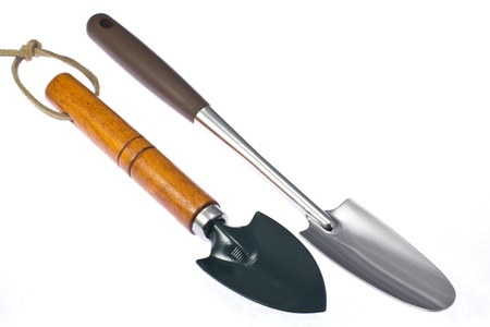 This is a photograph of a trowel I have bought for gardening. Stock Photo - 16633910