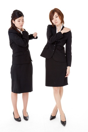 This is a photo of two young business people. Stock Photo - 16720773