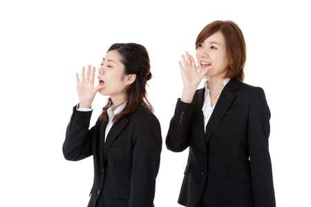 two young business people  Stock Photo - 16753525