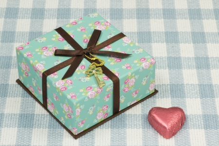 This is a photograph of a Valentines Day gift. photo