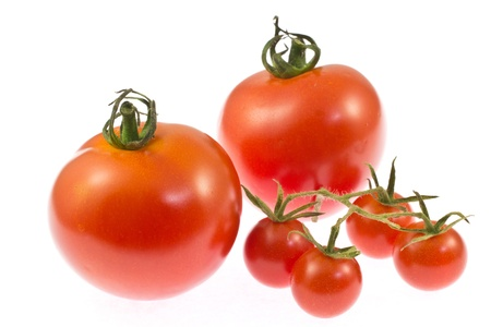 This is a photo of mini tomatoes and tomato. Stock Photo - 18882591