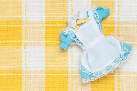 これは、ミニチュアのメイド服の写真です。 写真素材 - 19019540