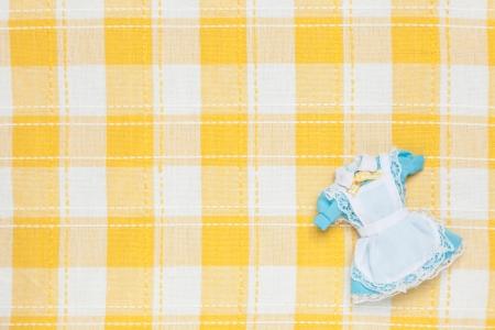 これは、ミニチュアのメイド服の写真です。 写真素材 - 19112760