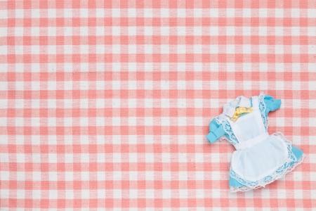 これは、ミニチュアのメイド服の写真です。 写真素材 - 19150712