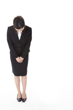 a business woman that has a bow. Stock Photo - 20143345