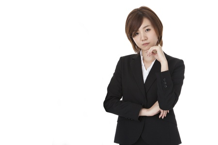 a young business woman