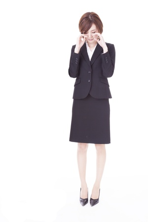 a young business woman that sobbing  Stock Photo - 20360467