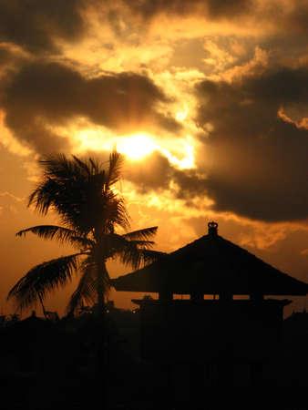 kuta: Sunrise in Kuta Town, Bali