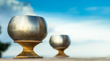alms: Monk s alms bowl