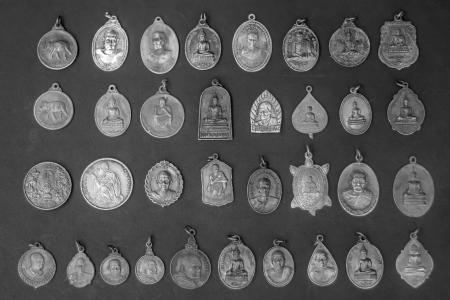 Coin talismans amulet