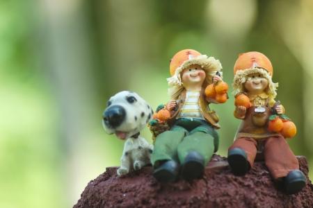 Garden dolls photo