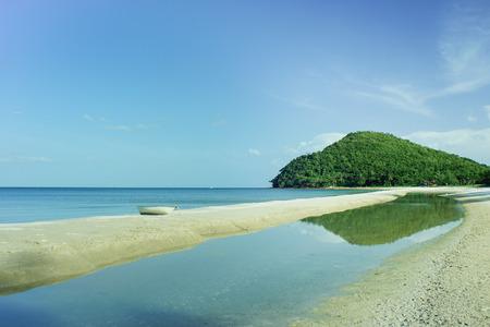 Beach in cabana chumporn Thailand