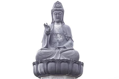 Guanyin statue in Thailand.