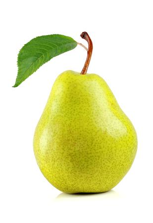 pear on white background Stock Photo