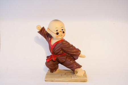 moine: Petit moine Kungfu Banque d'images