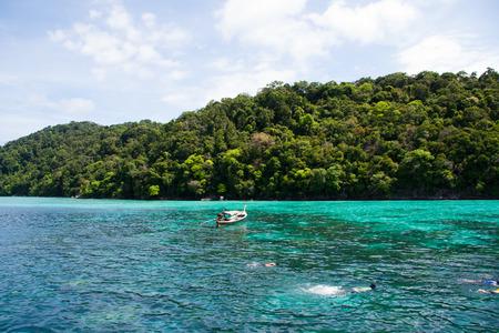 similan: Nice view from Similan Island