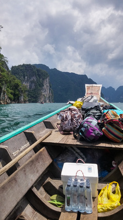 travelled: Things we brought with when we travelled at Chiao Lan Dam, Thailand