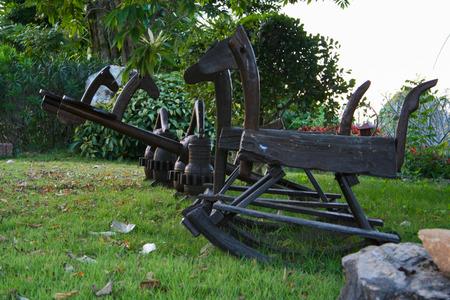 oscillate: Traditional playground Stock Photo