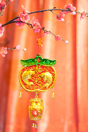 blessings: Hangers blessings for healthy, wealthy, and prosperous in Chinese Culture