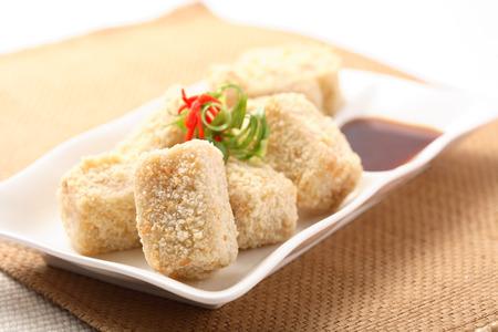 deep fry: deep fry tofu
