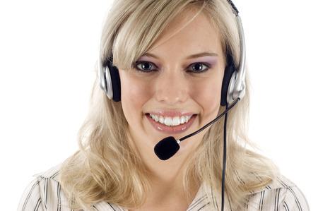 Opérateur de service à la clientèle Banque d'images - 41403527