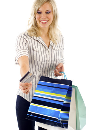 shoppingbags: Shopping- Paying with the Credit Card